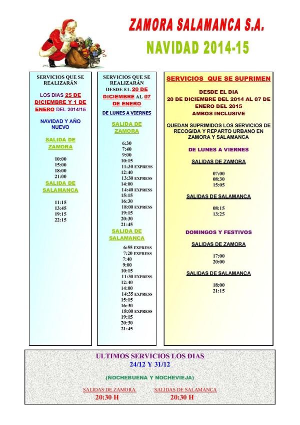 CARTELES UNIFICADOS NAVIDAD 2014-15