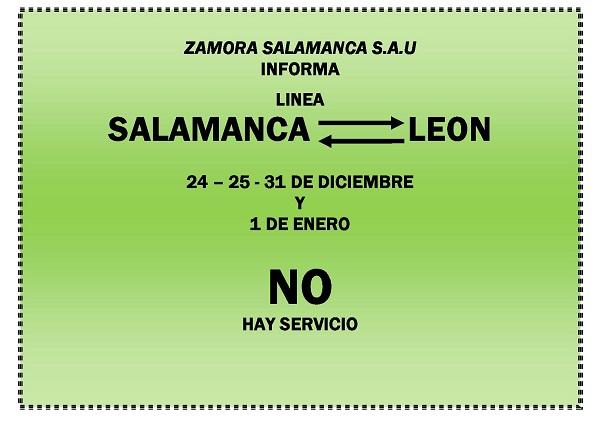 LINEA LEON 25 Y 1 - DICIEMBRE Y ENERO